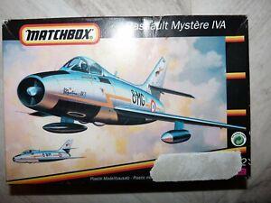 Matchbox maquette Dassault Mystère IV 1/72 - ref 40061