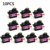 10 X MG90S Digital Micro Servo Motor Metal Gear For RC Helicopter Airplane US