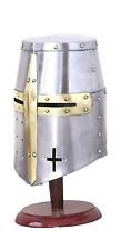 Medieval Crusader Helmet Medieval Knights TemplaR HELMET roman spartan