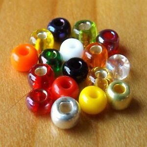 FLYBOX ®  3mm Glass Beads For Fly Tying ** NEW 2021 Stocks **