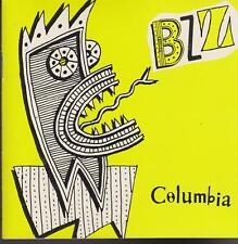 "COLUMBIA RECORDS ""BZZ"" PROMOS SAMPLER CD 1989"
