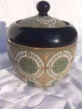 Royal Doulton Slaters Reg no 7199 ? tobacco / ginger jar