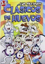 Los Sketches Clasicos de Huevos(2010) DVD  90Min   comedia  Espanol