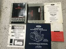 1995 FORD MUSTANG Service Shop Repair Workshop Manual Set W EVTM TRANS + Specs