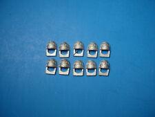 GW Warhammer 40K Space Marine White Scars Shoulder Pads x10 Metal Bits