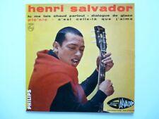 Disque Vinyle 45T Henri SALVADOR 432.585 BE (10489)