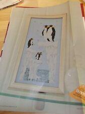 Isla Flotante cross stitch chart-Pingüinos en témpanos por Kate Fellows