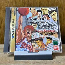 Slam Dunk I love Basketball Sega Saturn SS Video Game T-13301G 1995 JAPAN