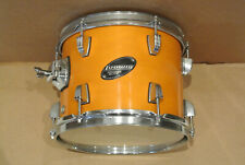"""LUDWIG 10"""" ROCKER ELITE TOM in AMBER for YOUR DRUM SET! LOT #E120"""