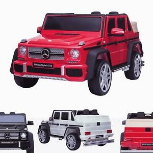 Kids Licensed 12V Mercedes G650 Maybach Electric Battery Ride On Car with Remote