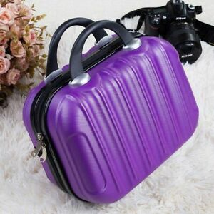 Small Suitcase On Wheel Travel Luggage Trolley Fashion Cosmetic Box Womens Bag