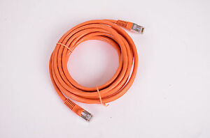 14' Cat 7 Network Cable, Orange