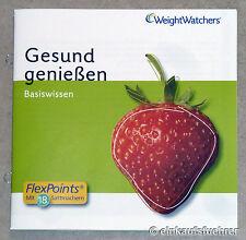Weight Watchers Basiswissen Gesund Genießen *NEU*