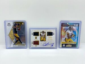 (3 Card Lot) 2020 Absolute & Mosaic Chase Claypool Jersey Football Auto RC /399!