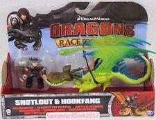 Snotlout & Hookfang / Rotzbacke Hakenzahn Dragons Drachenreiter Drachenzähmen V2