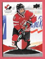 2016-17 Halli Krzyzaniak Upper Deck Team Canada Juniors Jersey - 2 Colors