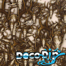 Hydrographics Film Hydro Dipping Bone head Camo pattern deer skull - RC-330