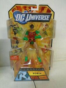 DC UNIVERSE CLASSICS - ROBIN - WAVE 16 - FIGURE 4 - NEW IN BOX RARE!