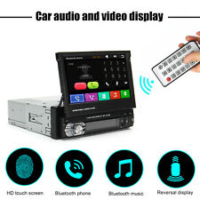 7'' HD Auto Touch Screen Bluetooth Car MP3/MP5 Player GPS Receiver Stereo Radio