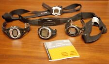Heartrate Monitor Chest Strap & Watch Lot Parts, Repair, Projects Timex Polar
