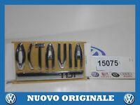 Football Symbol Rear Logo Emblem Rear New Original SKODA Octavia 2004 2008