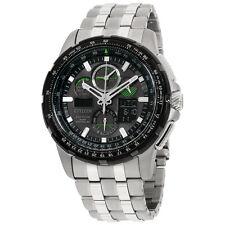 Citizen Skyhawk A-T Black Dial Stainless Steel Men's Watch JY805159E
