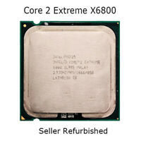 Intel Core 2 Extreme X6800 CPU 2.93GHz 1066MHz Dual-Core LGA 775 PC Processor