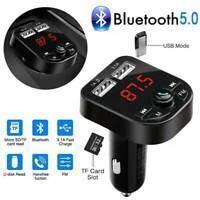 Bluetooth Car USB Charger FM Transmitter Wireless Radio Adapter MP3 Player Kit