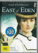 EAST OF EDEN - JOHN STEINBECK - 3 DVD SET - NEW & SEALED DVD - FREE LOCAL POST