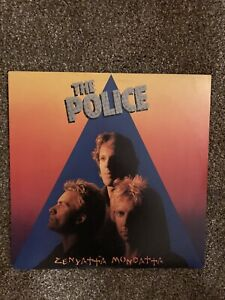 The Police - Zenyatta Mondatta - Vinyl LP - SP-3720 - VG+VG+.  1980.