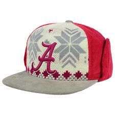 Alabama Crimson Tide NCAA Dog Ear Down Flap Strapback FlatBill Brim Hat Cap Roll