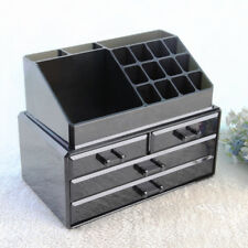 Cosmetic Organiser Acrylic Drawer Makeup Box Jewelry Storage  24Lx13Wx19Hcm