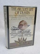Peter Tompkins THE SECRET LIFE OF PLANTS 1973 Harper & Row, NY Early Printing