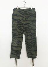 Vintage Tiger Stipe Camouflage Jungle Pants size 34 X 29
