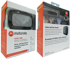 Motorola Sonic Rider TX550 Bluetooth Wireless In-Car Speakerphone 80 Hours Talk