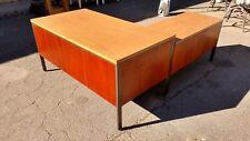 Mid Century Desks L Shaped Walnut Left Return 60 We Deliver Locally Nor Cal