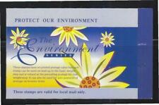 Singapore 1997 Protect our Environment with 10 lst local stamp Booklet