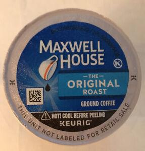 Maxwell House Original Medium Roast Coffee Keurig Bulk K-Cups 100 ct  Exp 5/22