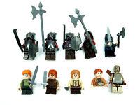 Big Lot Lego Lord of the Rings Minifigures Uruk Hai Mini Figures Weapons