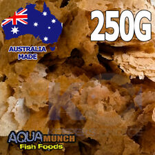 AM Aquarium Brine (Artemia) Shrimp Fish Food Flakes GRAIN FREE Flake Feed 250G