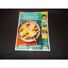 Tesco Food family Living July / August 2015 magazine recipes