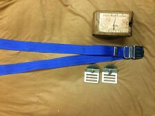 1950's,1960's Ford,Thunderbird,Lincoln,Mercury NOS blue seat belt with mounts