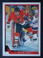 NHL 440 Kevin Todd Chicago Blackhawks Upper Deck 1993/94
