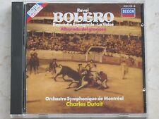 Ravel-Bolero-Charles Dutoit-CD-1983 Decca 410010 2 01-Sammlerstück