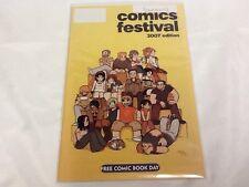Comic Festival FCBD Unstamped (2007)  NM/M  (000063) Scott Pilgrim