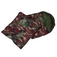 Bolsa de dormir de camping de algodon de alta calidad, 15 Celsius ~ 5 Celsi S1G8
