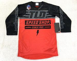 Troy Lee Designs TLD MTB Cycling Ruckus Jersey Speed Black/Red Mens Size Small