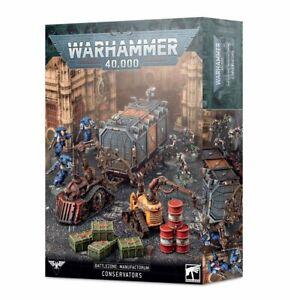 Battlezone - Manufactorum Conservators - Warhammer 40k