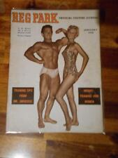 THE REG PARK JOURNAL muscle bodybuilding mag RAYMOND MORRIS & JUNE DAWSON 1-58