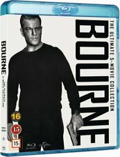 The Bourne Ultimate 5 Movie Collection 1-5 Blu-Ray Set Brand New Free Ship